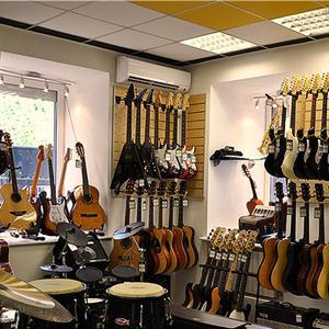 Музыкальные магазины Городищ