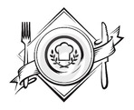 Апрель - иконка «ресторан» в Городищах